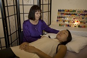 The healing energy of a Sedona Reiki session
