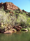 Sedona Vortex sacred spiritual site: Oak Creek